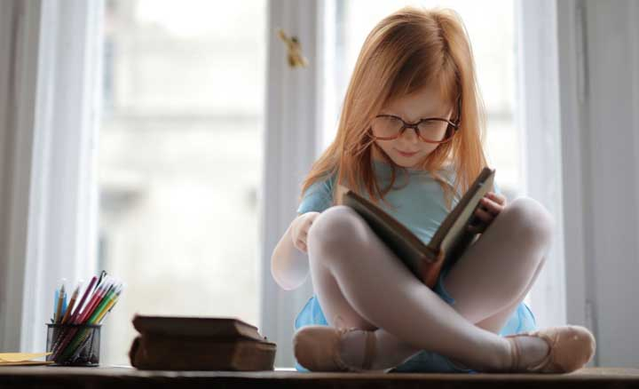 Books are helping children to develop intellectually
