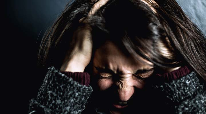 Headaches can be caused by stress