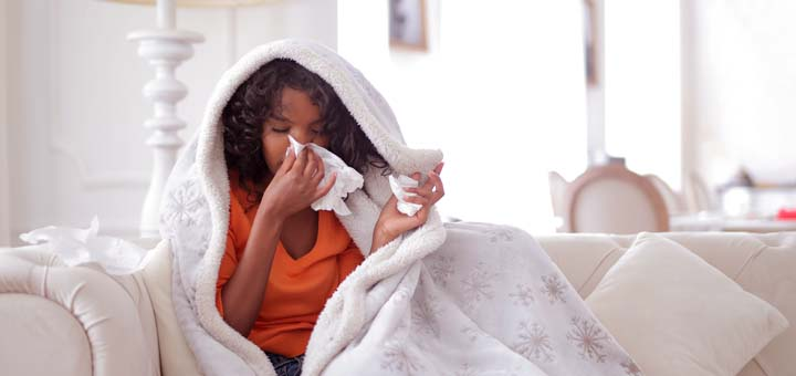 Increased cortisol levels can make your susceptible to colds.