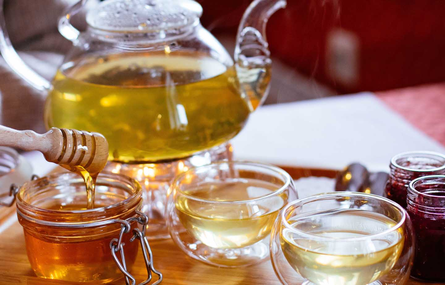 Tea sweetened with honey - Photo by Valeria Boltneva from Pexels