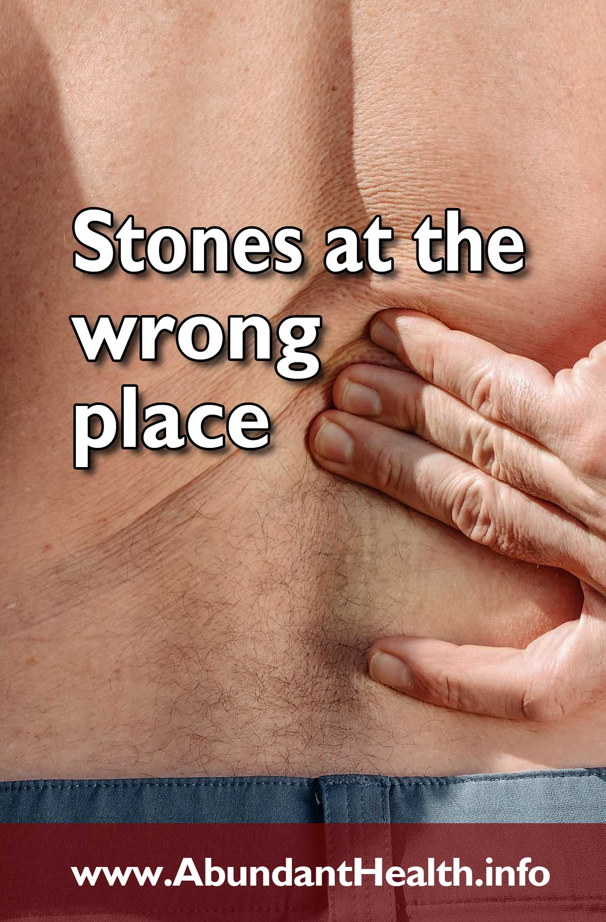Stones at the Wrong Place
