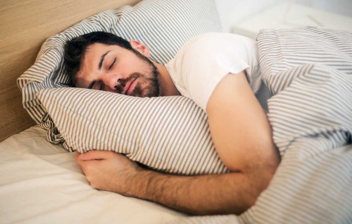 Sleeping man -  Photo by Andrea Piacquadio from Pexels