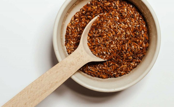 A bowl of flaxseed - Photo by Vie Studio from Pexels
