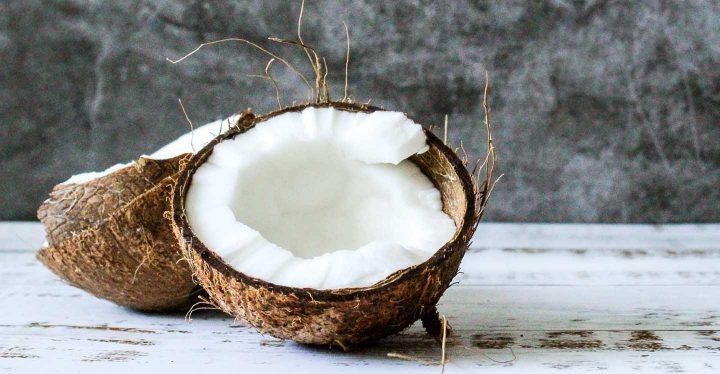 Coconut - Photo by Tijana Drndarski from Pexels